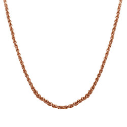 Rope Chain - Rose Gold Plated product photo