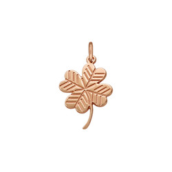Clover Charm - Rose Gold Plated product photo