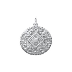 Disc Pendant With Back Engraving product photo