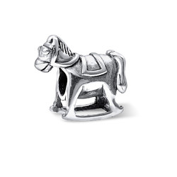 Horse Silver Bead product photo