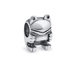 Frog Silver Bead product photo