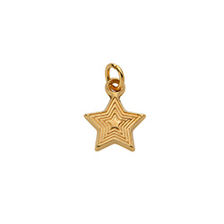 Star Charm in Gold Vermeil for Linda Necklace product photo