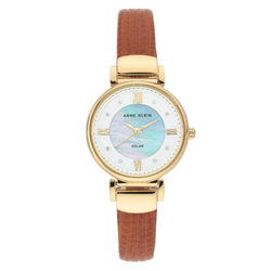 Considered Women's Swarovski Crystal Accented Vegan Leather Strap product photo