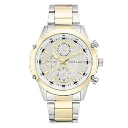 Vince Camuto Men's Two-Tone Gold Bracelet Watch product photo