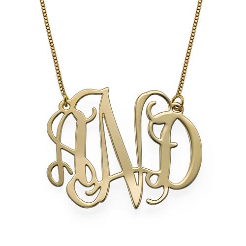 10k gold celebrity monogram necklace mynamenecklace