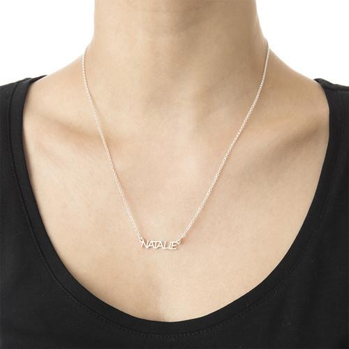 Signature All Capitals Name Necklace - 2