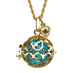 Angel Caller Necklace with Gold Plating