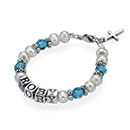 Baby Bracelet with Personalized Name