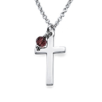 Baptism Cross Necklace