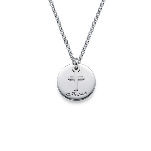 baptism ss lockets small silver heart pendant cross locket girls products sterling necklace