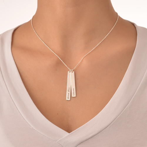 Bar Necklace Set for Moms and Daughters - 2