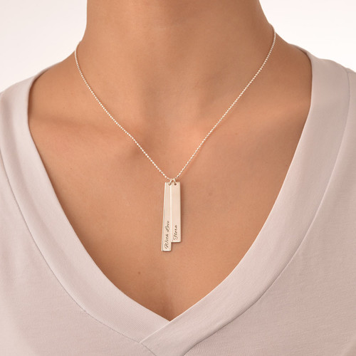 Bar Necklace Set for Moms and Daughters - 3