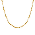 Bead Chain - Gold Plated