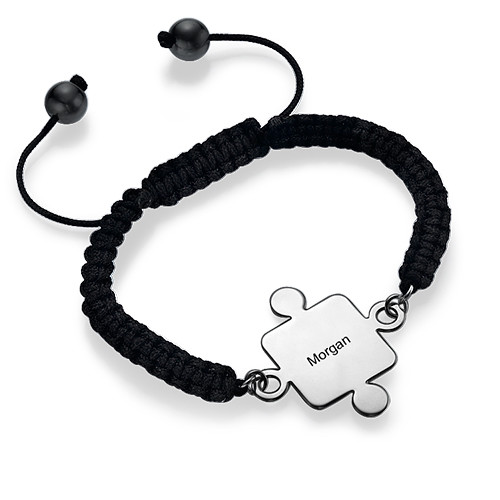 Best Friends Puzzle Bracelet in Silver - 3