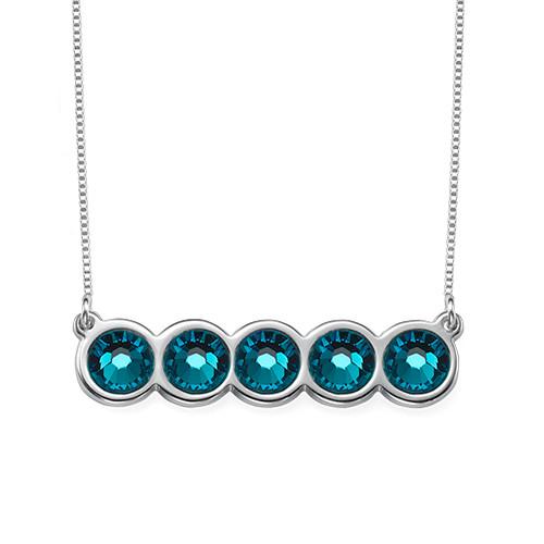 Birthstone Bar Necklace