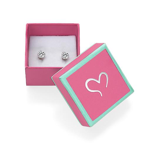 Cubic Zirconia Earrings - 2
