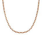 Cable Chain - Rose Gold Plated