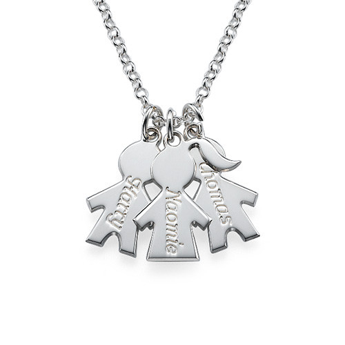 Children's Charm Necklace for Moms - 1