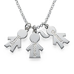 Children's Charm Necklace for Moms