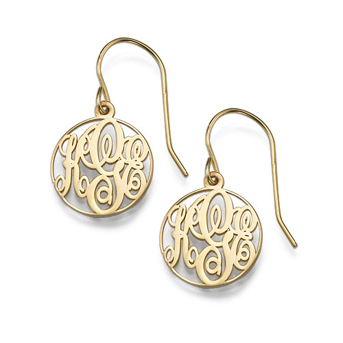 direct back pearl gold my madison earrings vinyl monogram