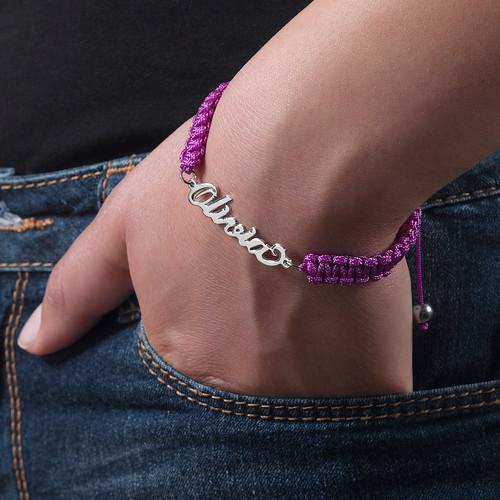 Cord Name Friendship Bracelet - 3