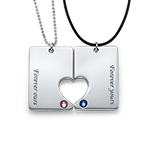 Couple's Dog Tag Set