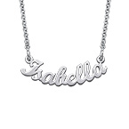 Signature Curved Name Necklace