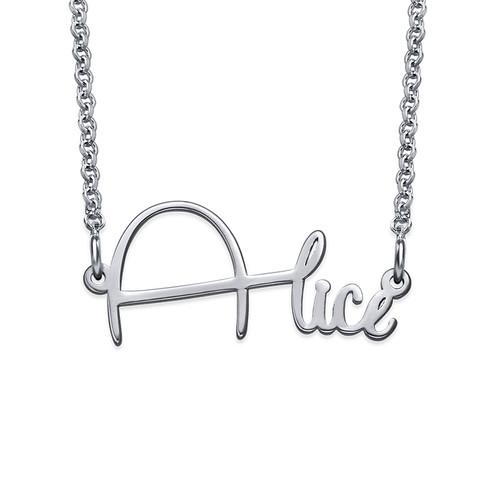 Signature Custom Wire Name Necklace