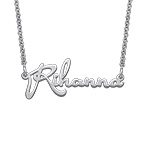 Delicate Celebrity Name Necklace - Next Generation Collection