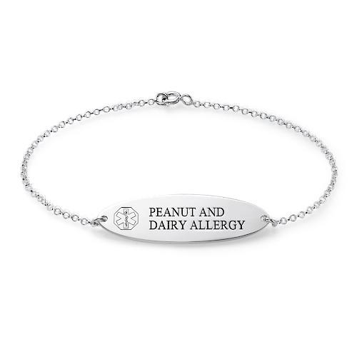 Engraved Medical Bracelet