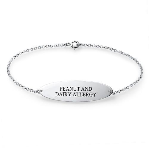 Engraved Medical Bracelet - 1