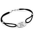 Engraved Oval Tag Bracelet