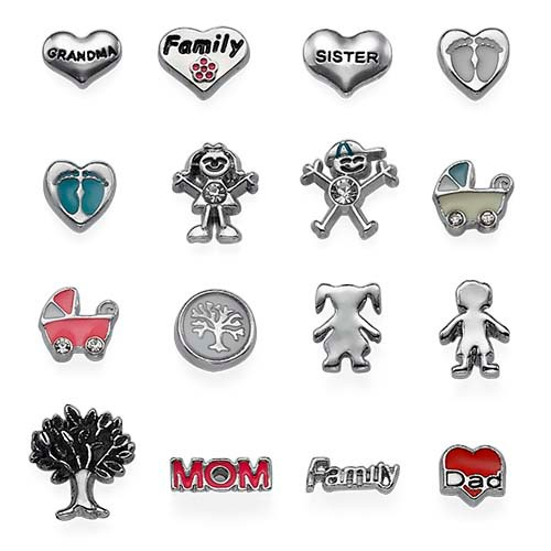 Family Charms for Lockets