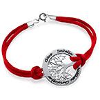 Family Tree Bracelet in Silver