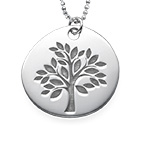 Family Tree Necklace with Engraving
