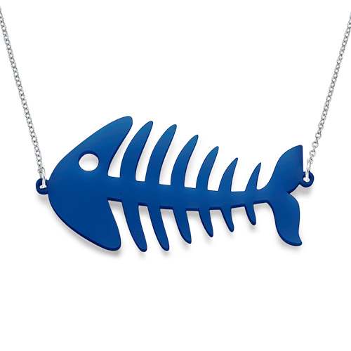 Fishbone Necklace - 1