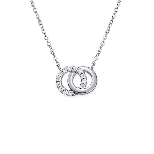 gold products famke final linked necklace circle