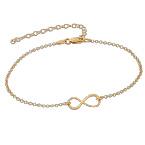 Gold Plated Eternity Bracelet