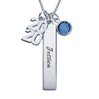 Graduation Charms Necklace