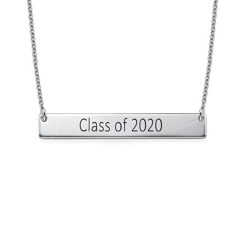 Graduation Jewelry - Bar Necklace