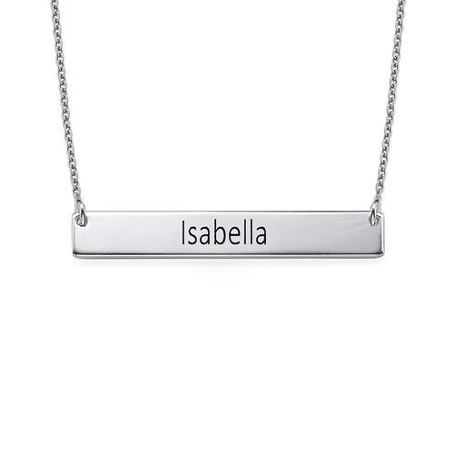 Graduation Jewelry - Bar Necklace - 1