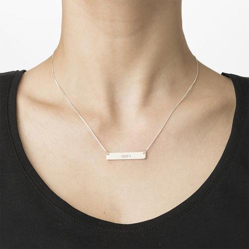 Graduation Jewelry - Bar Necklace - 2