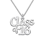 Graduation Jewelry - Class Necklace