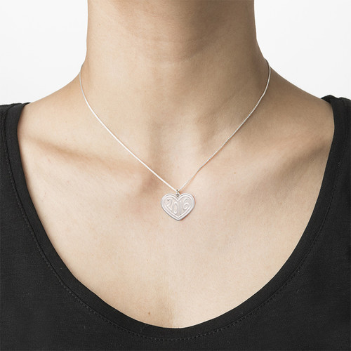 Graduation Jewelry - Heart Necklace - 2