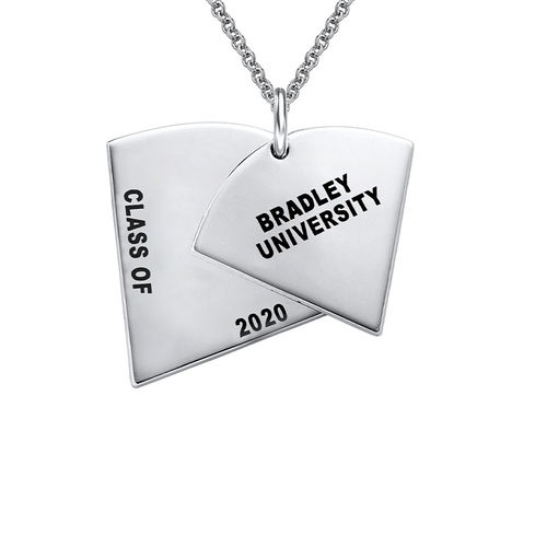 Graduation Pendant Necklace with Engraving - 1