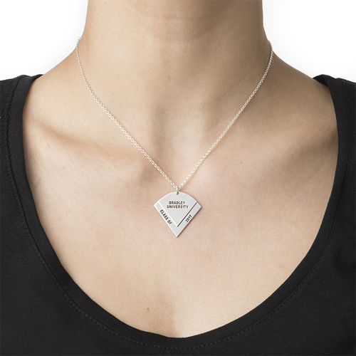 Graduation Pendant Necklace with Engraving - 2