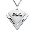 Graduation Pendant Necklace with Engraving