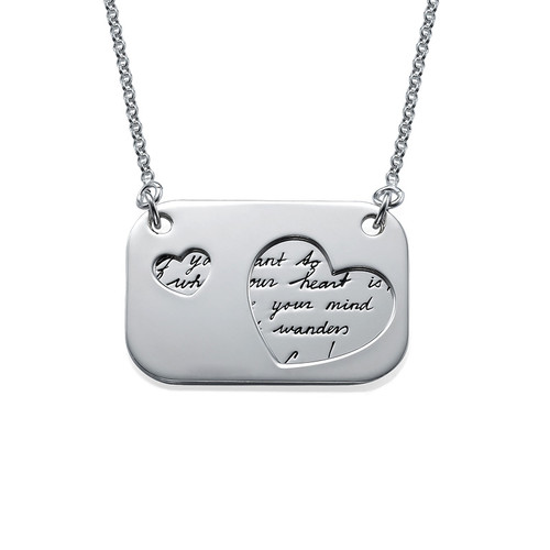 Handwriting Jewelry - Love Note