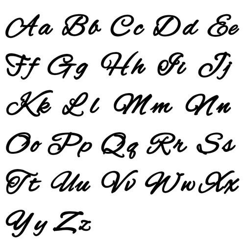 Signature Handwriting Style Name Necklace - 1