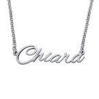 Signature Handwriting Style Name Necklace